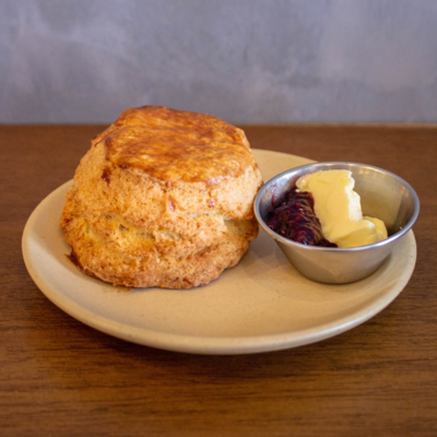 Scones with Butter & Jam