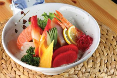 Chirashi Rice Bowl