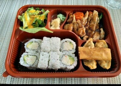 Teriyaki Lunch Box (Chicken)