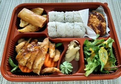 Roll Lunch Box (Chicken)