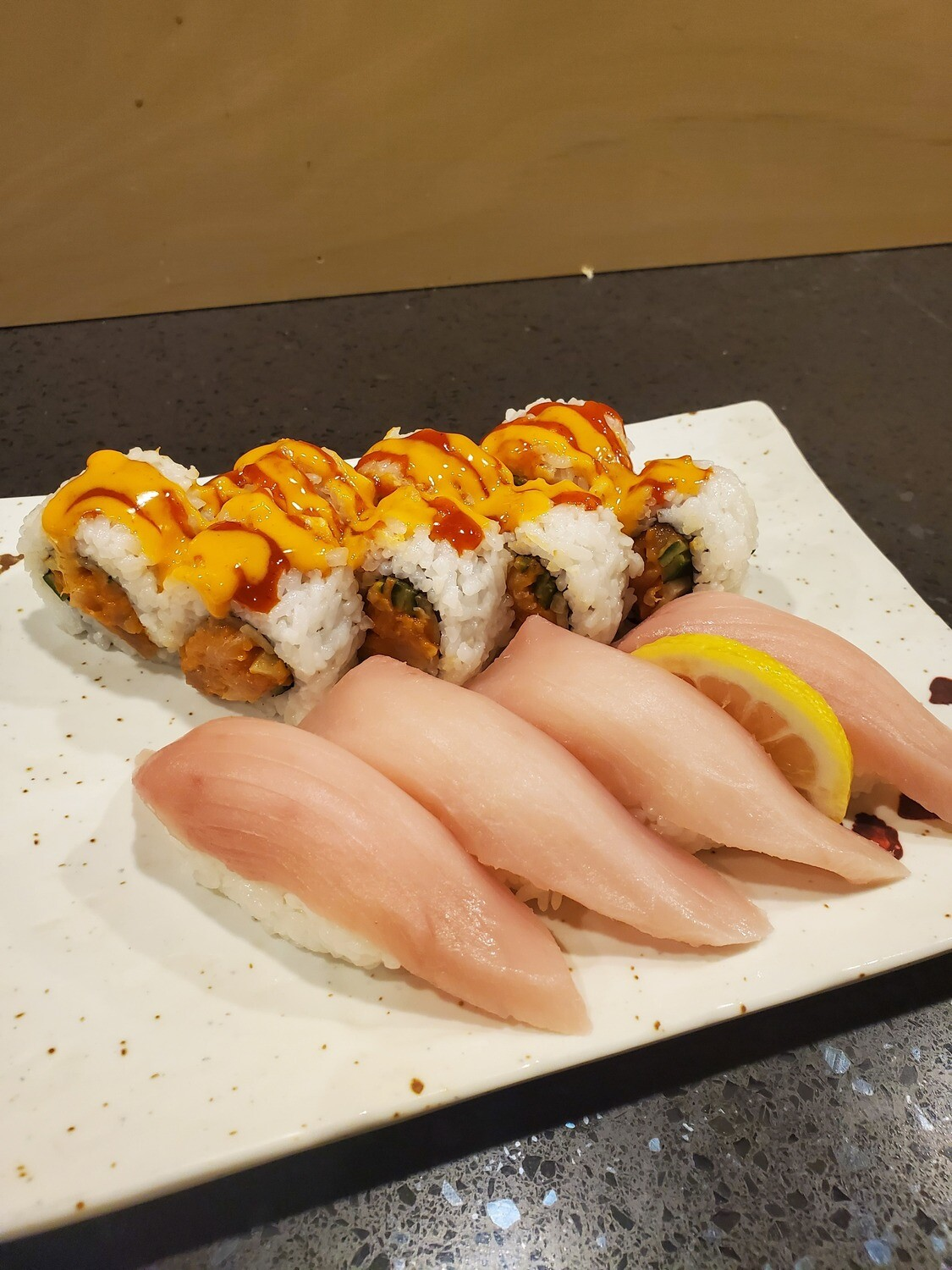 Spicy Tuna Combo