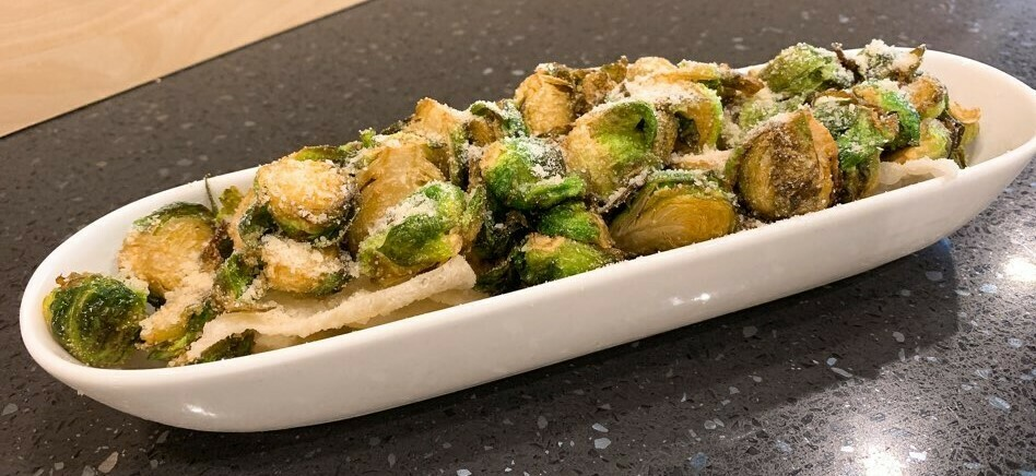 Crispy Brussels Sprouts (Parmasan)