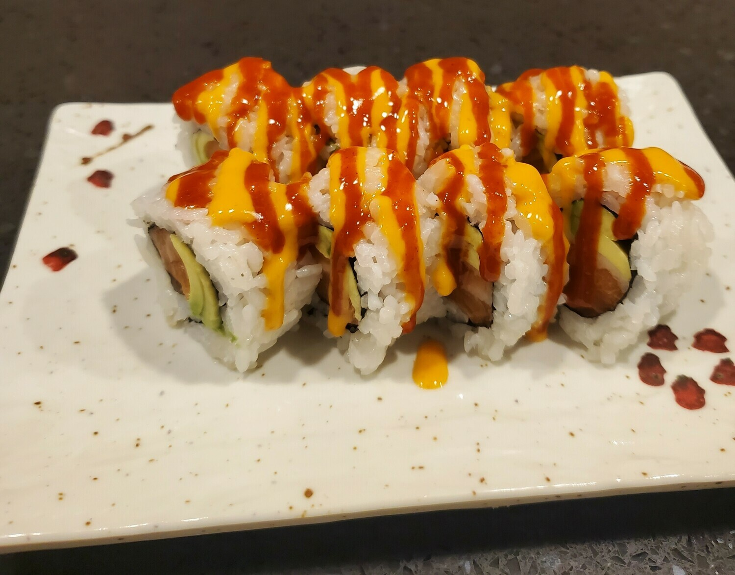 Spicy Salmon Avocado Roll