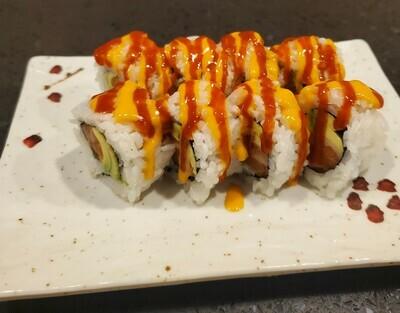 Spicy Salmon Avocado Roll