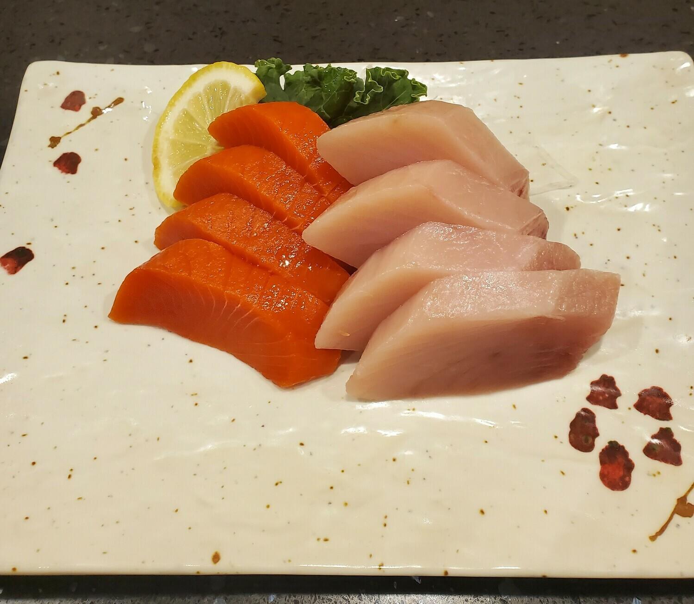 Sockeye Salmon & Tuna Sashimi