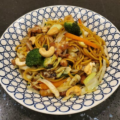 Chicken Kung Pao Noodle