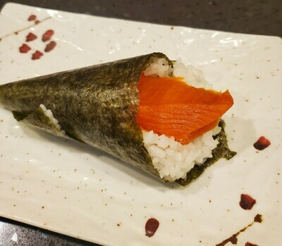 Wild Salmon Avo Cone