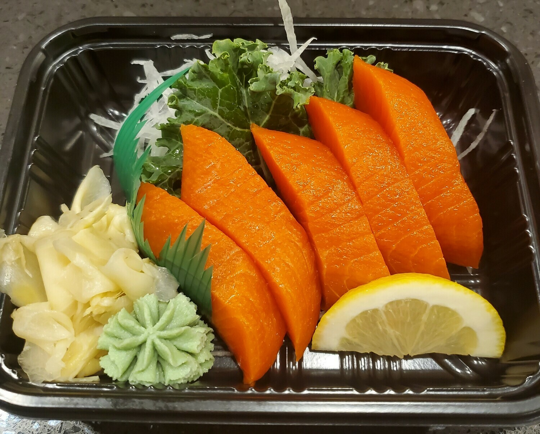 Sockeye Salmon Sashimi (5pcs)
