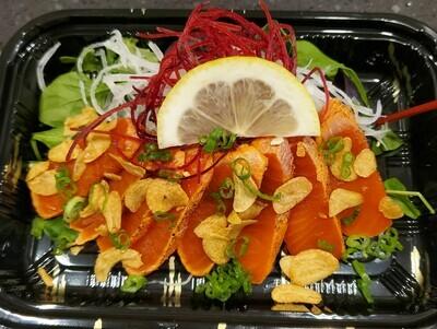 Sockeye Salmon Tataki (8pcs)