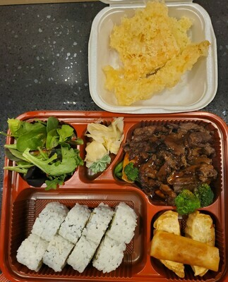 Teriyaki Lunch Box (Beef)