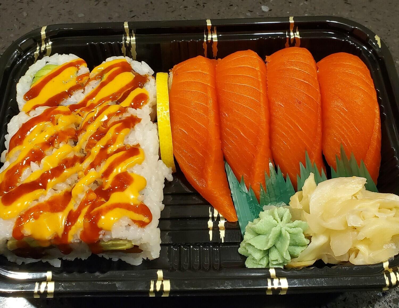 Spicy Sockeye Salmon Combo