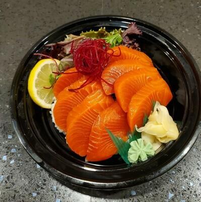 Sockeye Salmon Rice Bowl