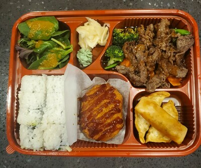 Roll Lunch Box (Beef)