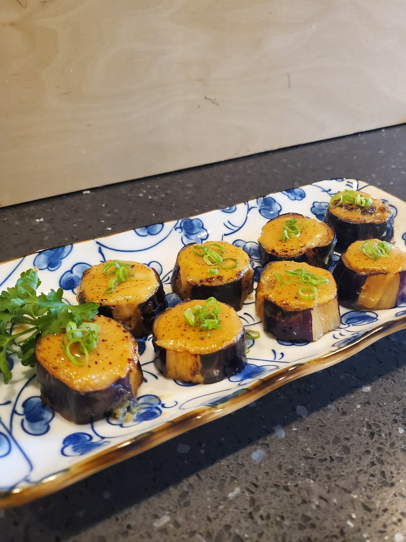 Sweet Miso Eggplants