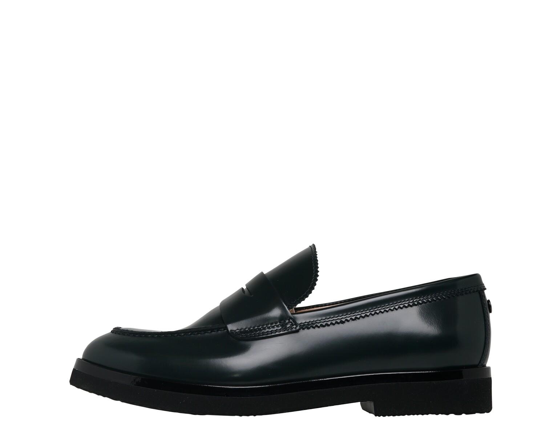 AGL Mokassin/Loafer dunkelgrün