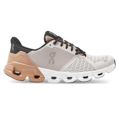 ON | Cloudflyer glacier rosebrown - Running structured guided