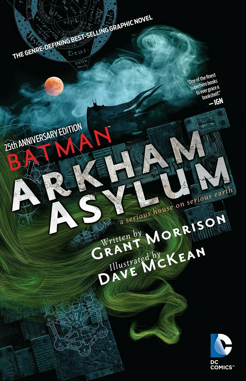 Morrison in McKean: Arkham Asylum