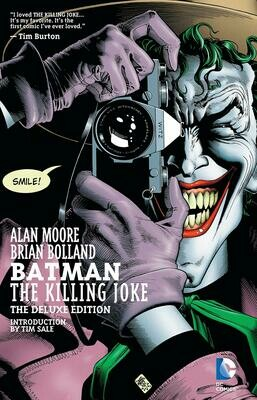 Alan Moore in Brian Bolland: The Killing Joke