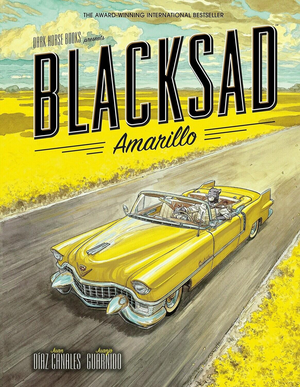 Guarnido in Canales: Blacksad - Amarillo