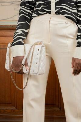 Twin Set Handtas gebroken wit