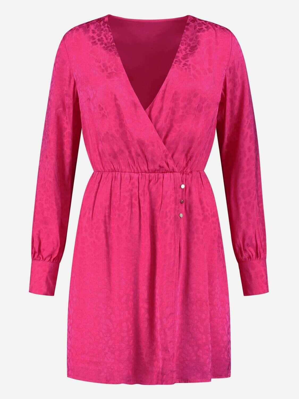 Nikkie kleedje roze panterprint