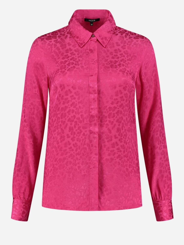 Nikkie bloes roze panterprint