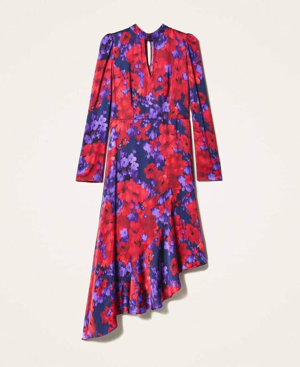 Twin Set kleed rood-paarse print