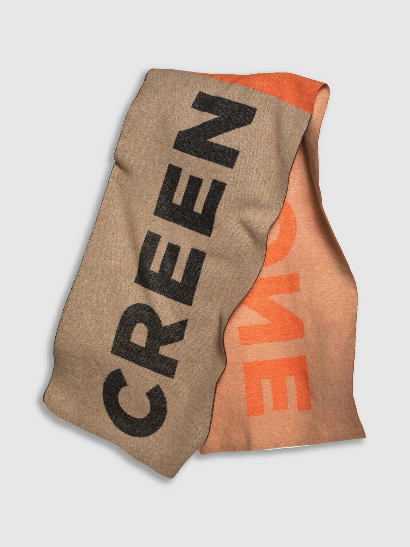 Creenstone sjaal beige - oranje