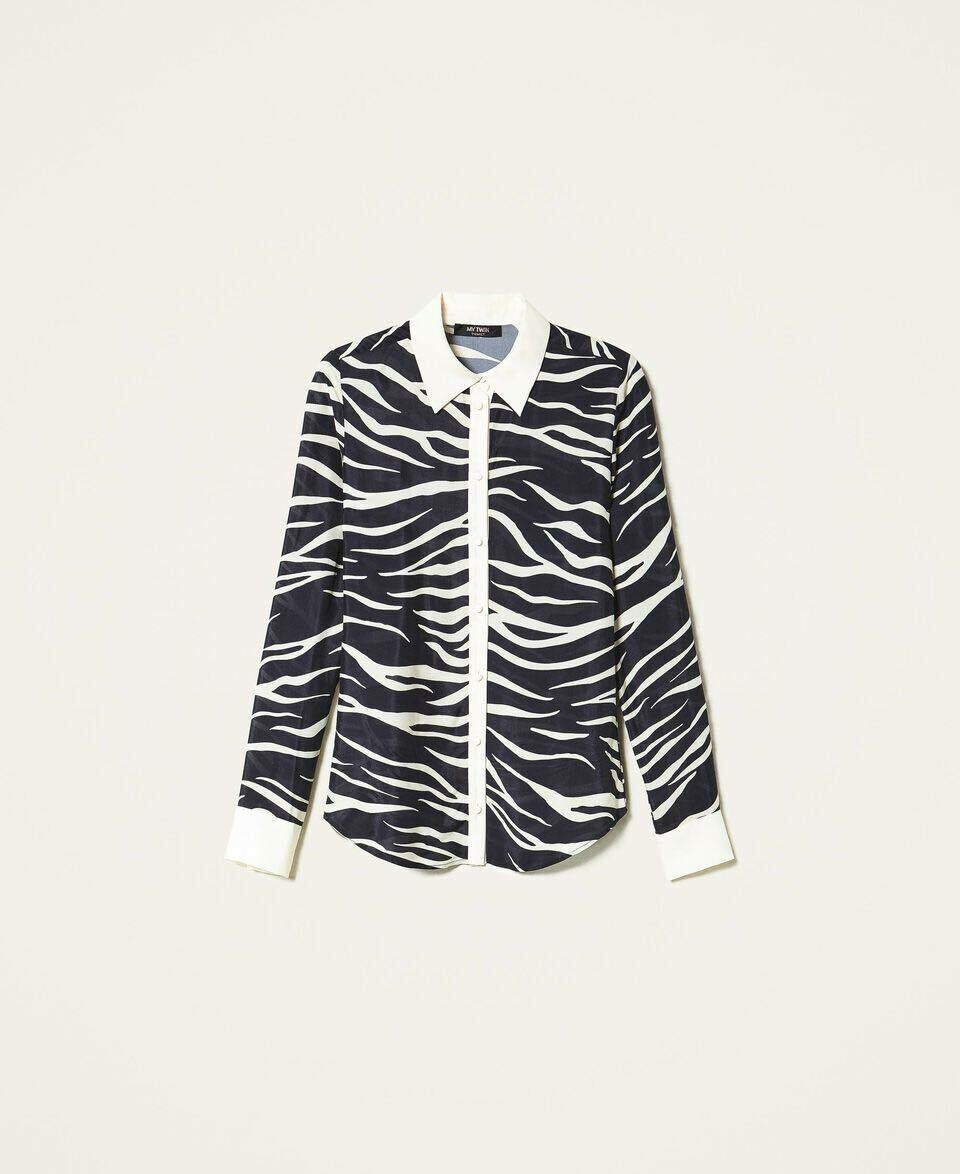 Twin-Set bloes zebraprint