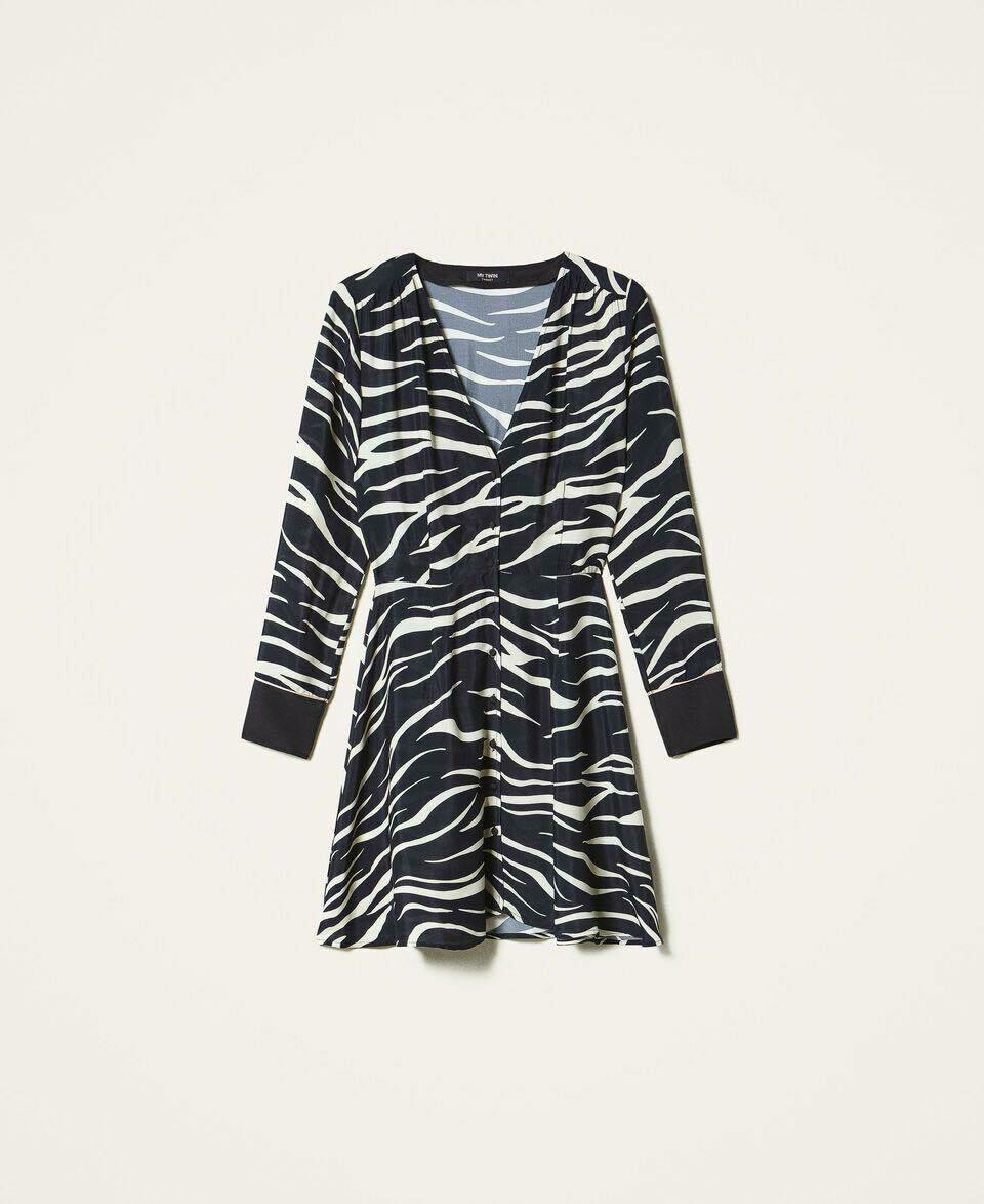 Twin Set kleedje zebraprint