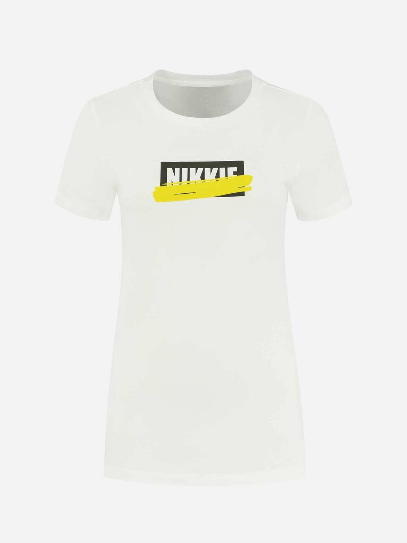 Nikkie T-shirt wit