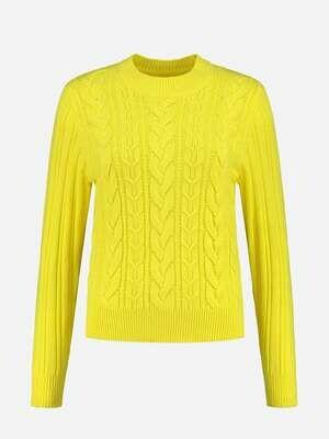 Nikkie sweater met gebreide structuur
