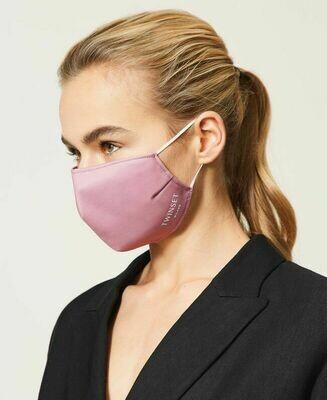 Twin-Set mondmasker roze