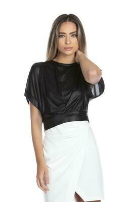 Relish Blusa Porong bloesje zwart