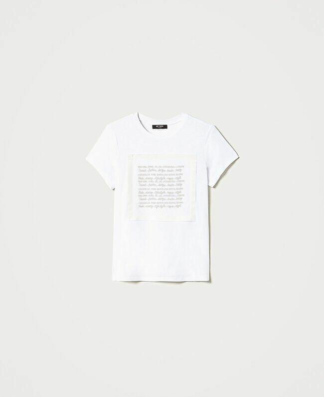 Twin Set T-shirt Bianco