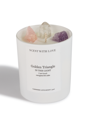 Scent With Love geurkaars Golden Triangle