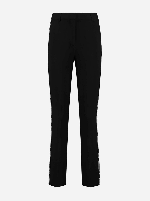 Nikkie Lenny Tape Pants zwart met logo