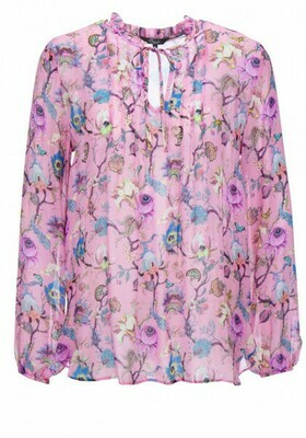 Princess bloes bloemenprint roze