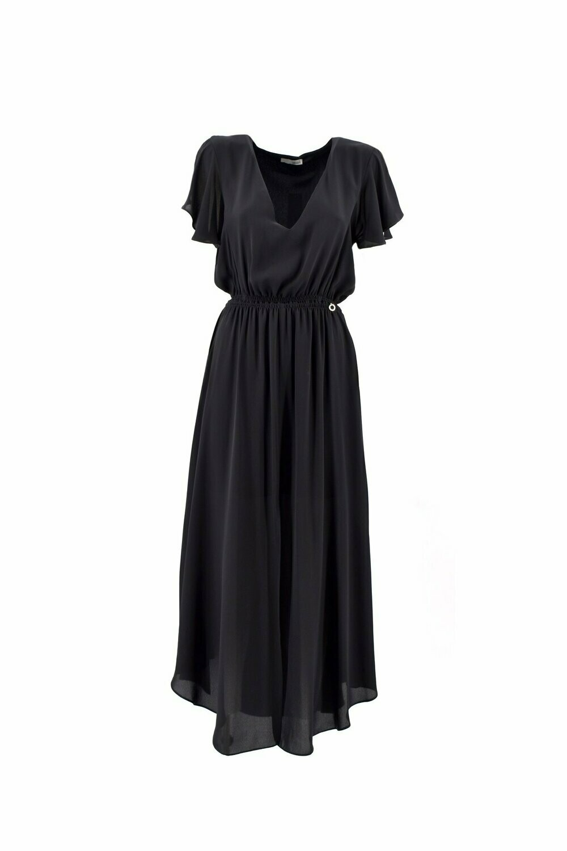 Relish lang kleed zwart