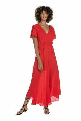 Relish lang kleed rood