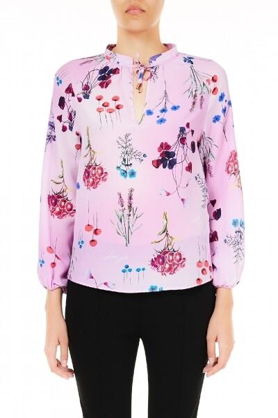 Liu Jo bloes lila met bloemenprint
