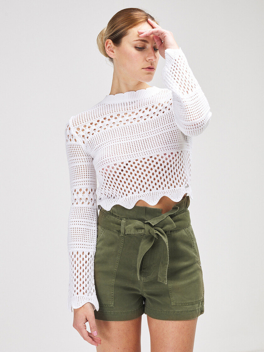 Guess cropped truitje
