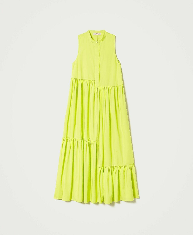 Twinset lang kleedje led yellow