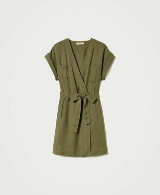 Twin-Set kleedje Abito Verde AL