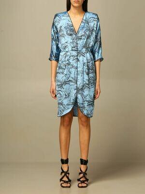 Liu Jo kleedje lichtblauw all-over print