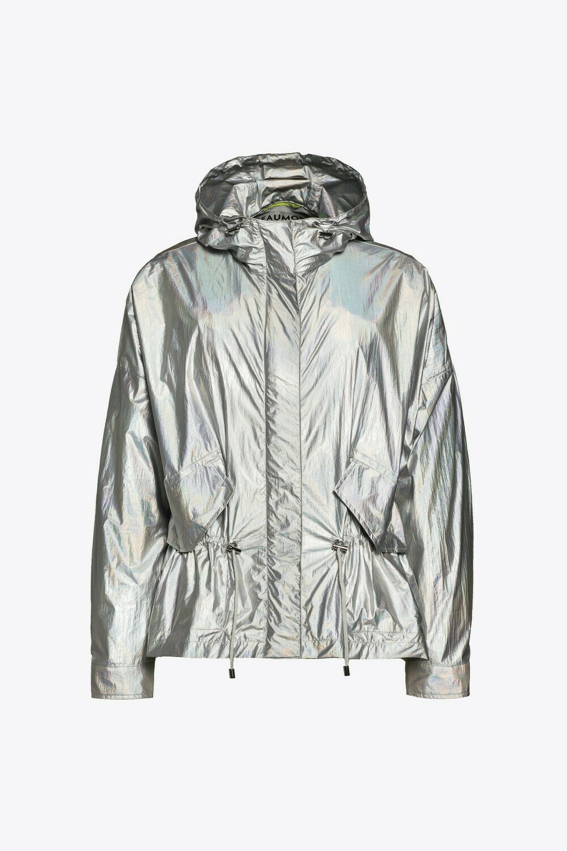 Beaumont metallic travel jacket