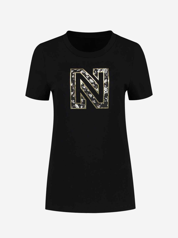Nikkie Flower Logo T-shirt