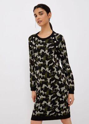 Liu Jo kleedje camouflage print