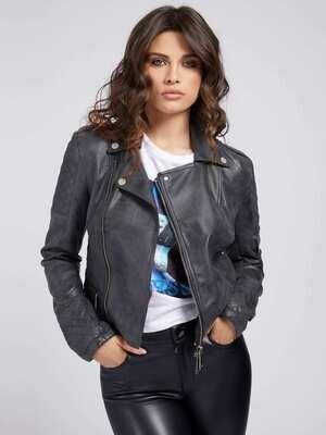 Guess Leather Biker Jacket