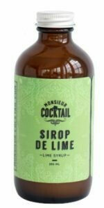M. Cocktail - Sirop de Lime